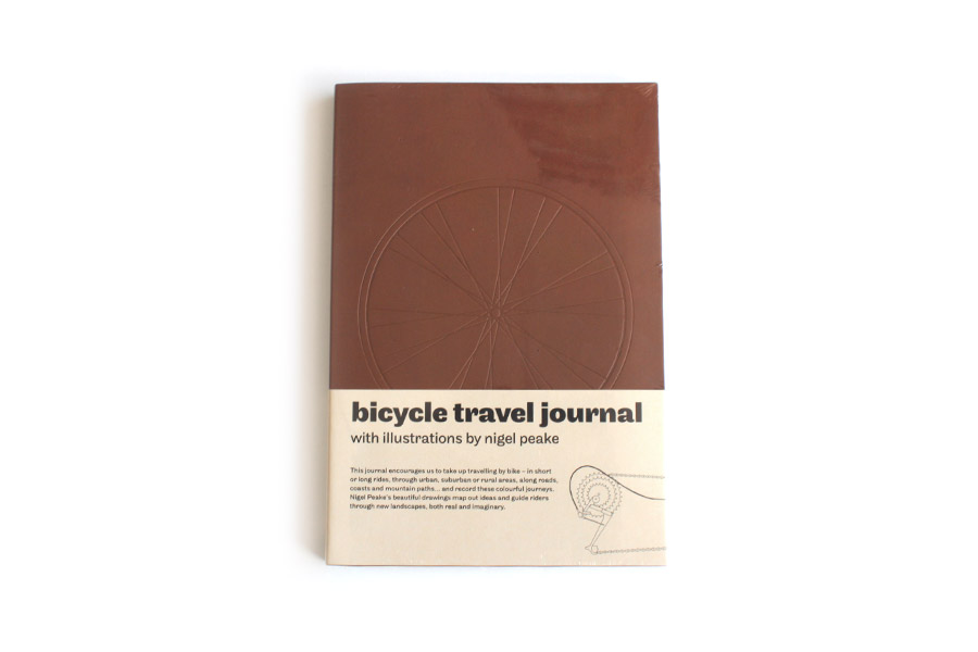 Bicycle Travel Journal Tagebuch