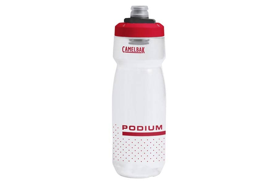 CamelBak Podium Trinkflasche - Clear Red