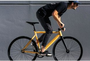 State Bicycle Co. 6061 Black Label V2 Fixie / Singlespeed Fahrrad - peach