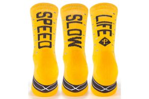Pacific and Co. Speed/Slow Life Socken - gelb