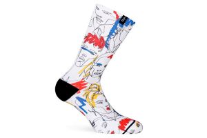 Pacific and Co. Street Faces Socken