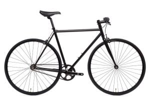State Bicycle Co. 4130 Core Line Fixie / Singlespeed Fahrrad - Matte Black 6.0