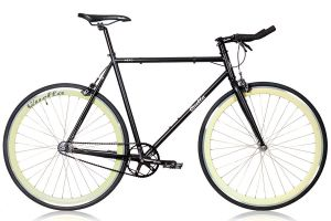 Quella Nero Fixie / Singlespeed Fahrrad - Cream
