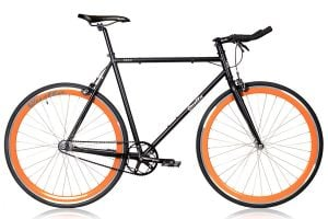 Quella Nero Fixie / Singlespeed Fahrrad - Orange