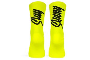 Pacific and Co. Stay Strong Socken - neon gelb