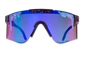 Pit Viper Night Fall Polarized Double Wide Sonnenbrille - Lila