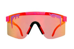 Pit Viper The Radical Polarized Double Wide Sonnenbrille - Rot
