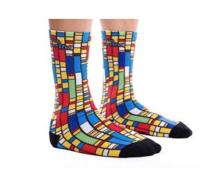 Calcetines State Bicycle x The Simpsons Color Block