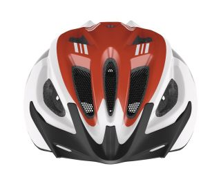 Abus S-Cension Helm - weiß/rot