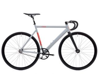 State Bicycle Co. 6061 Black Label V2 Fixie / Singlespeed Fahrrad - pigeon grey