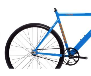 State Bicycle Co. 6061 Black Label V2 Fixie / Singlespeed Fahrrad - typhoon blue