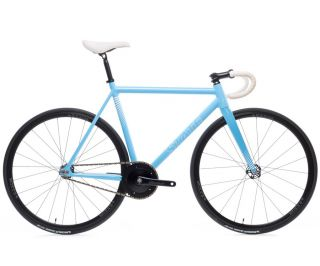 State Bicycle Co. Undefeated Bahnfahrrad - photon blue